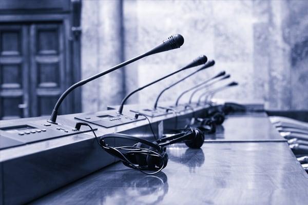Konferenzen Konferenztechnik