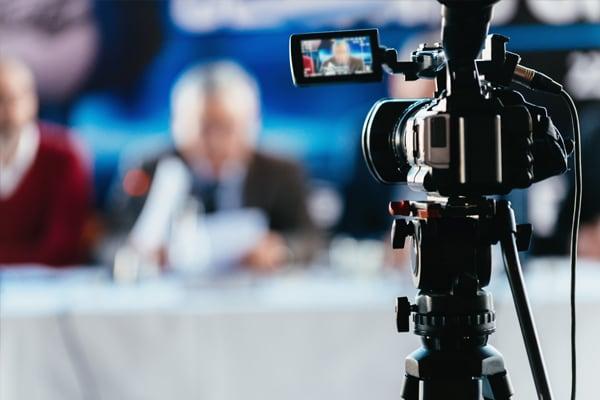 Presseveranstaltungen Videotechnik